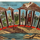 Greetings-from-Colorado-Rockies-Pikes-Peak-State-Capitol-ca-1950.